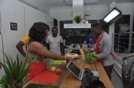 Behind The Scenes (Kitchen): DKS Season 1 (Bad Breath episode)
